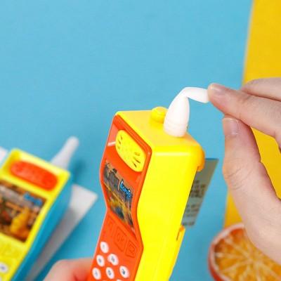 金稻谷迷你电话机玩具糖果声乐糖玩网红儿童零食学生礼物超市批发