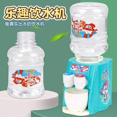 金稻谷新款迷你饮水机玩具糖仿真出水过家家厨房趣味糖玩