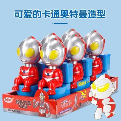 金稻谷马桶奥特曼搞怪奥特儿童休闲玩具玩具含糖果恶搞玩具糖果机