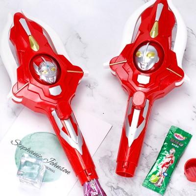 金稻谷奥特曼变脸闪光玩具糖果跳跳糖幼儿园儿童学生零食糖玩批发
