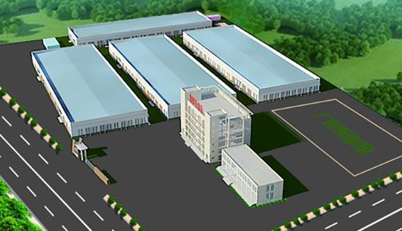 金旺食品湖北工厂鸟瞰图