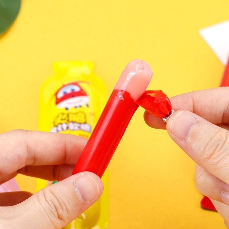 金稻谷火腿果汁软糖儿童糖果水果糖