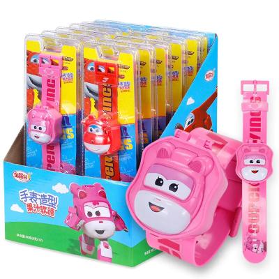 金稻谷 12个手表造型果汁软糖创意玩具糖