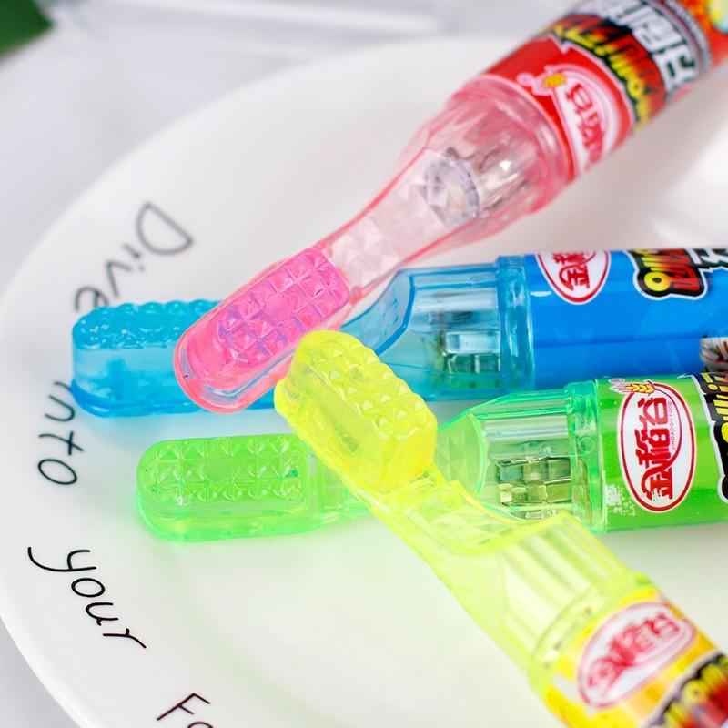 金稻谷牙刷糖儿童创意糖果