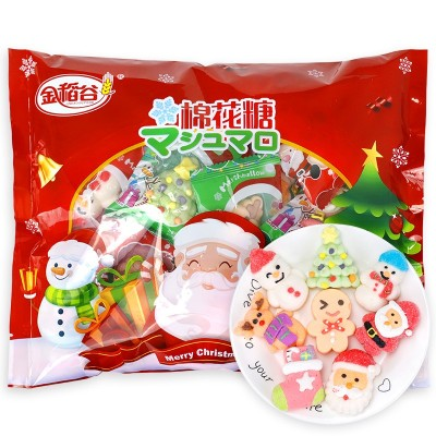圣诞节糖果圣诞棉花糖批发