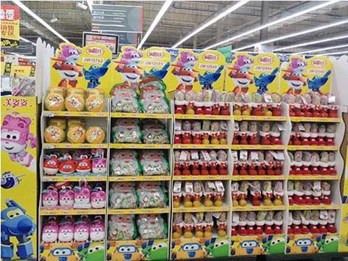 金稻谷果汁VC软糖入驻沃尔玛